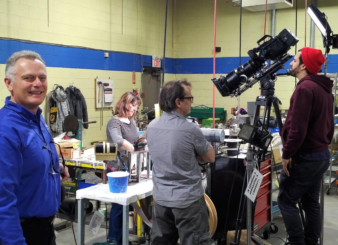 How it's made filming at Electronic Craftsmen