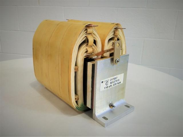 30kW Coupled Inductor, 112uH, 14kHz