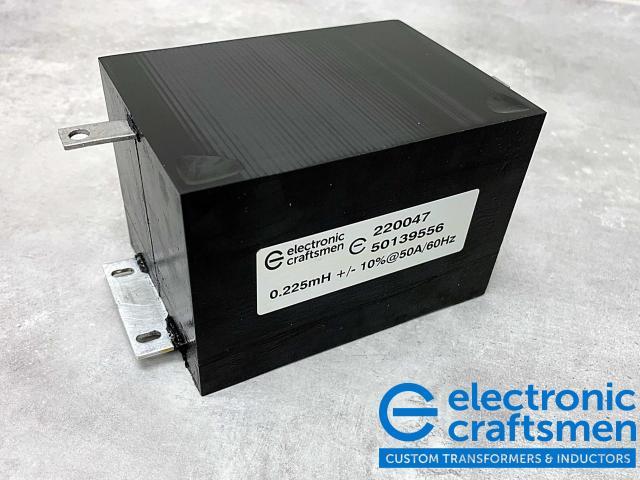 AC Filter Inductor 200uH (EC Custom Model 220047)